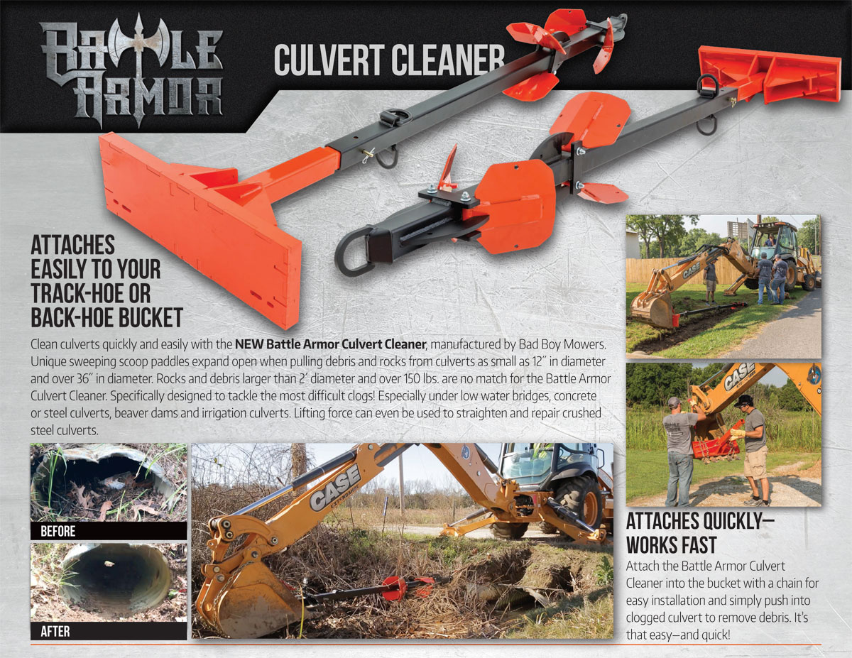 Battle Armor Culvert Cleaner Catalog