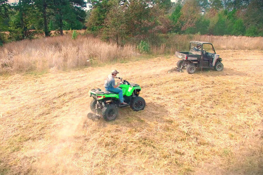 Big Buck Food Plot Plow - UTV/ATV Disc Plow