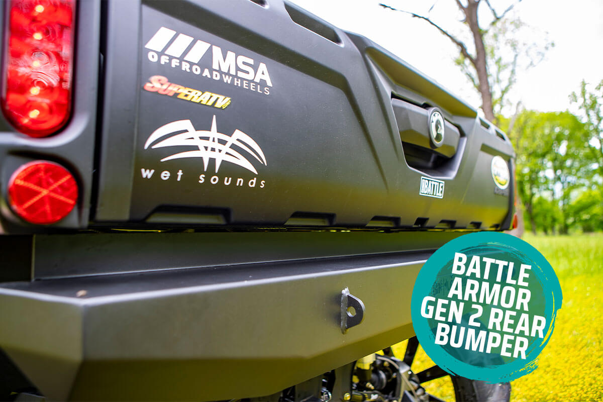 Battle Armor Gen 2 Rear Bumper