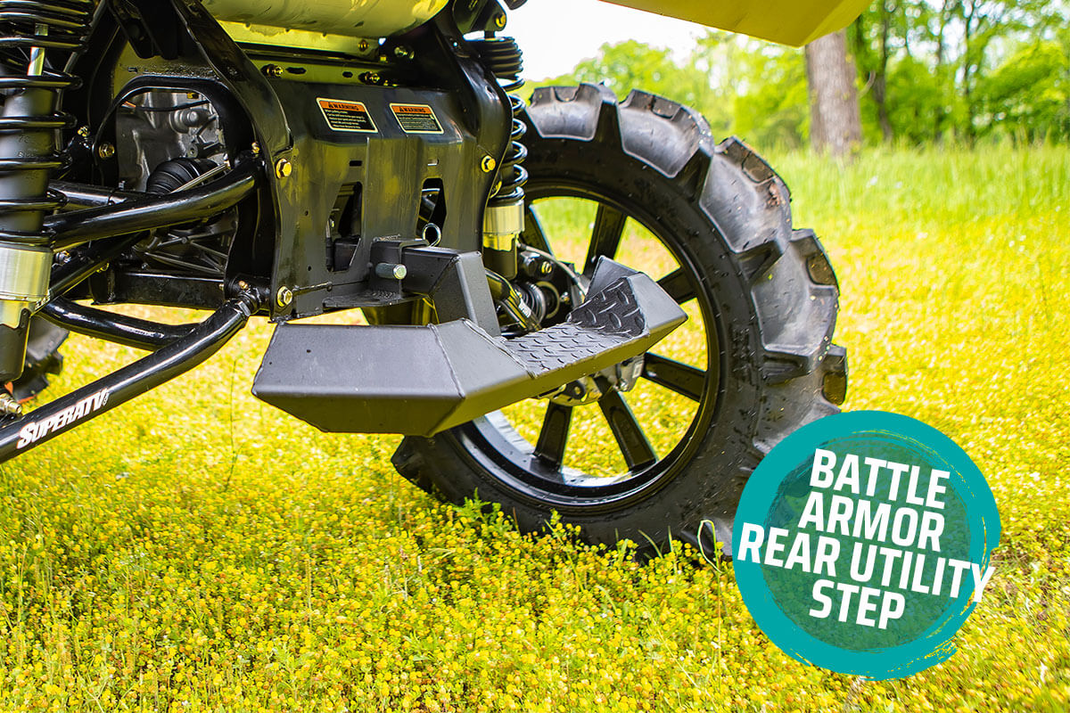 Battle Armor Rear Utility Step