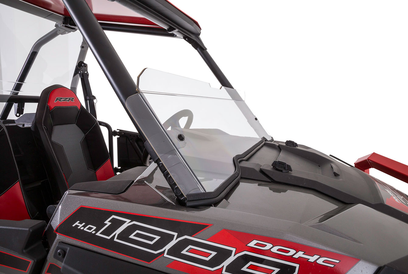 2014-2017 RZR FRONT HALF WINDSHIELD