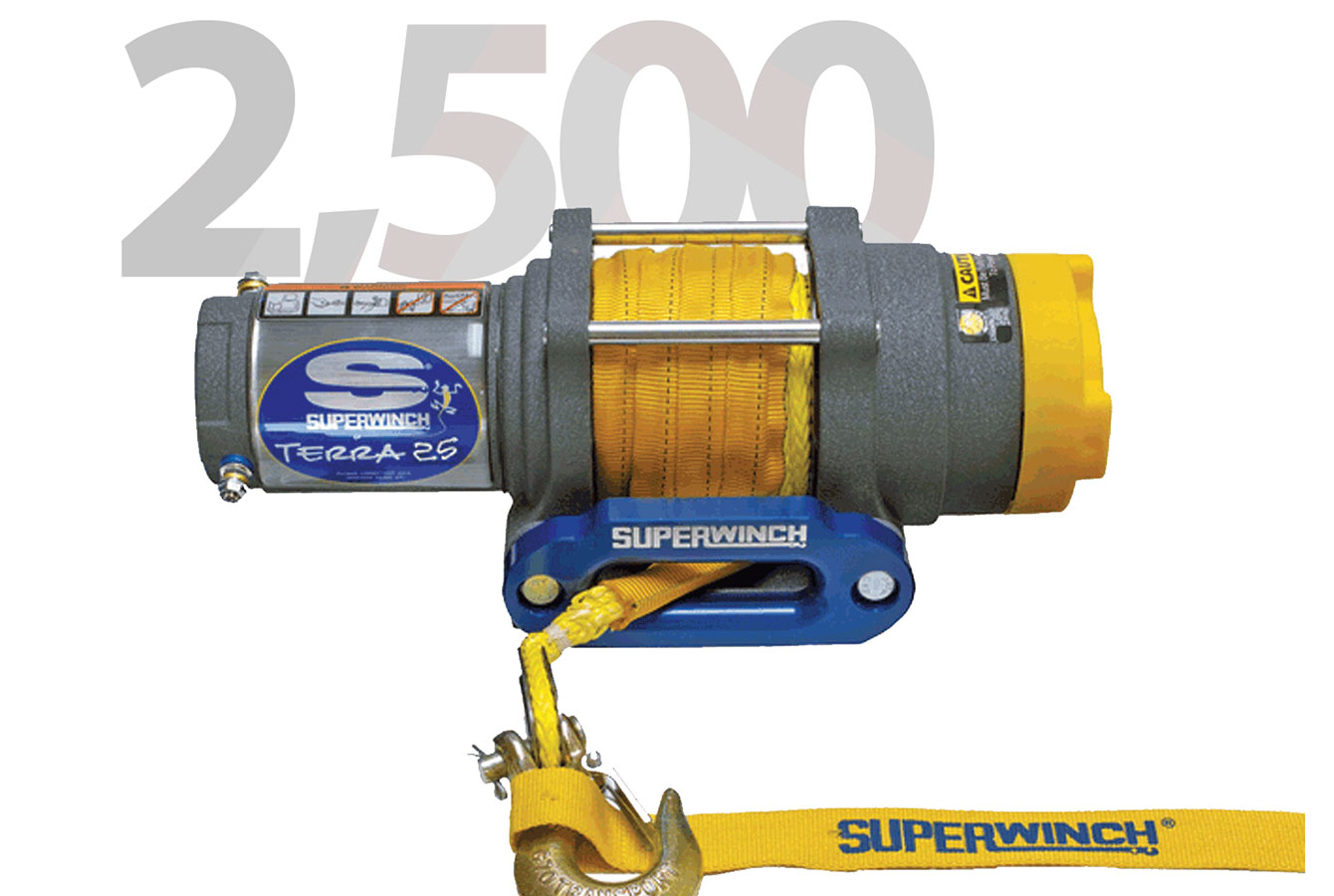 TERRA 2500LB SYNTHETIC ROPE