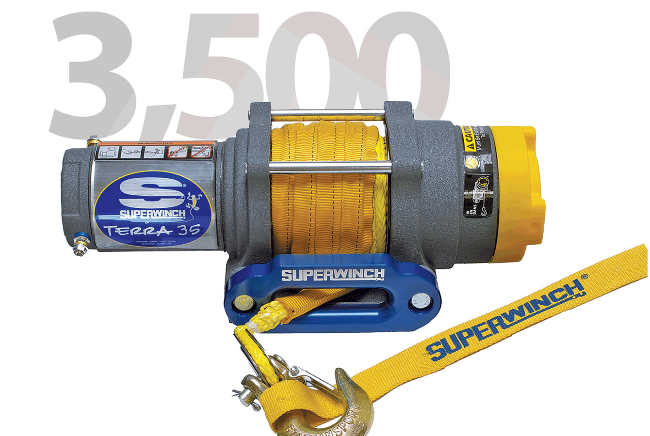 TERRA 3500LB SYNTHETIC ROPE
