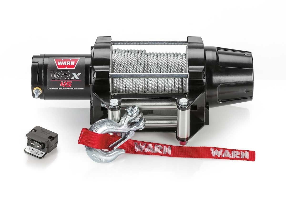Warn VRX 45 Powersport Winch Steel Cable