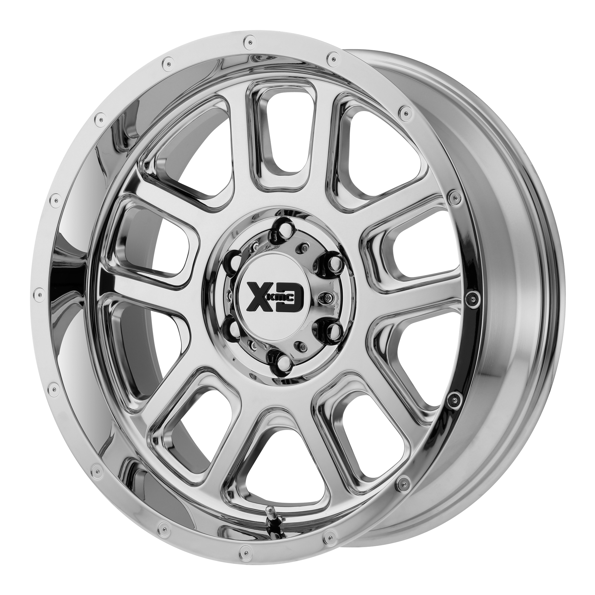 XD SERIES BY KMC WHEELS XD828 DELTA Chrome Plated
