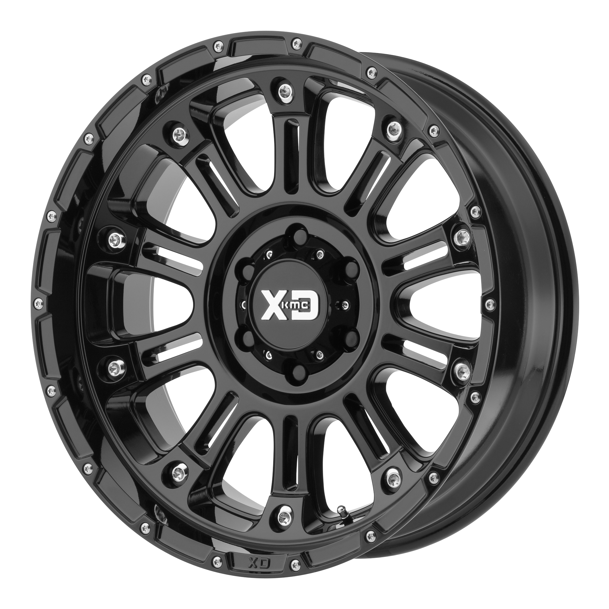 XD SERIES BY KMC WHEELS XD829 HOSS II Gloss Black