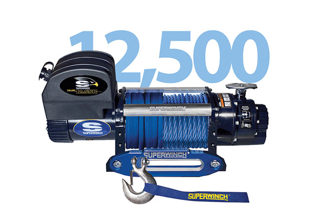 TALON 12500LB INTEGRATED SYNTHETIC ROPE 12V